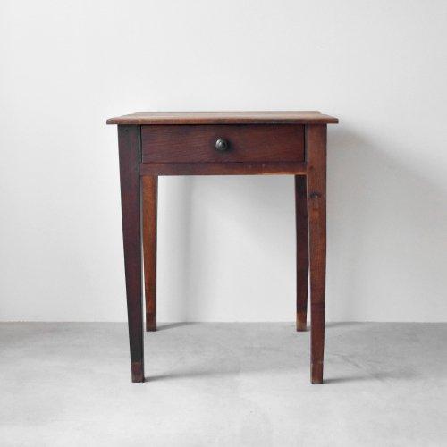 Small Square Oak Table