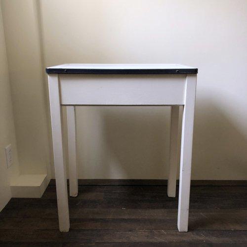 Enamel Top Small Table