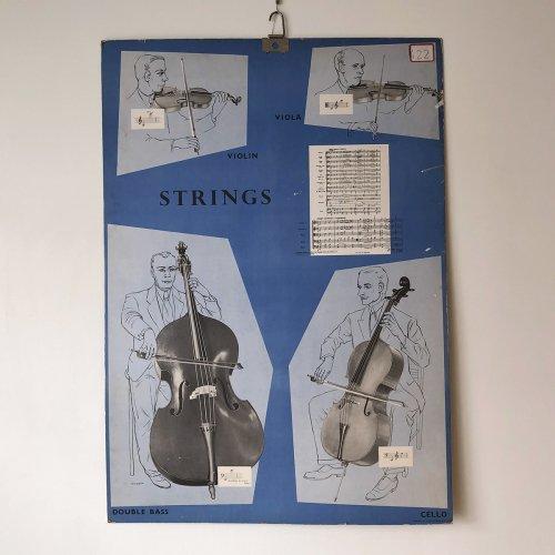 Strings Illustration Board