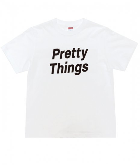 <img class='new_mark_img1' src='https://img.shop-pro.jp/img/new/icons60.gif' style='border:none;display:inline;margin:0px;padding:0px;width:auto;' />PRETTY THINGS SONIC Tshirts           WHT×BLK