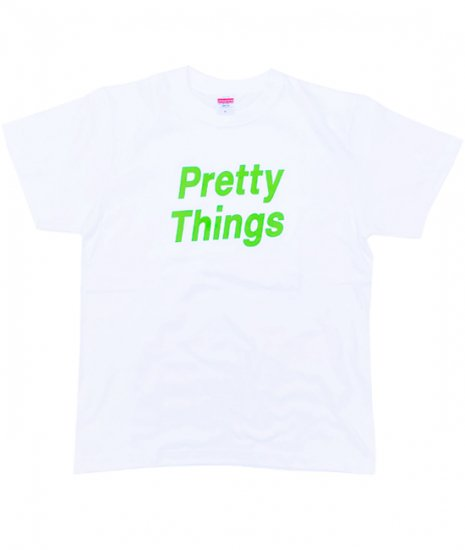 <img class='new_mark_img1' src='https://img.shop-pro.jp/img/new/icons1.gif' style='border:none;display:inline;margin:0px;padding:0px;width:auto;' />PRETTY THINGS SONIC Tshirts           WHT×Limegreen