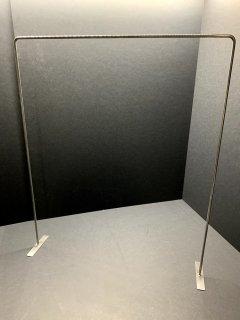 ビニール袋×パーテーション (30リットルサイズに適応)
