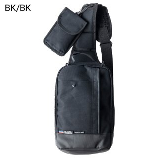 B4 LINE BOTH SIDE POCKET BODY BAG with SMARTPHONE HOLDER