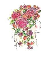 【オーダー】季節のお花のウォールバスケットブリコラージュフラワー