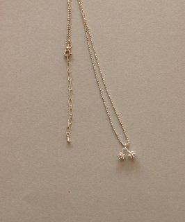 穀雨 オリーブの花つぼみ2つぶ ネックレス