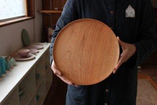 木のお皿 桜27cm