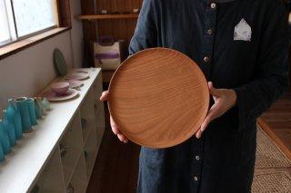 木のお皿 桜24cm