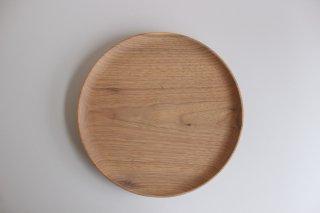 木のお皿 クルミ24cm