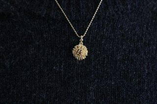 中川久美子 つぶの花ネックレス S  真鍮
