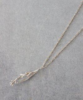 穀雨 オリーブの花つぼみ  枝 ネックレス