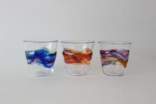 彩りグラス  / ガラス工房橙