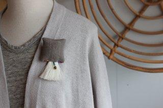 otobaco ブローチ 刺繍A