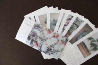 椿野恵里子 花と果実カレンダー2022