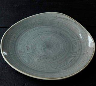 stonecast トレースプレートLL (ナツメグクリーム・ペッパーコーングレー)