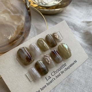 La Chouette nail tips #aku1