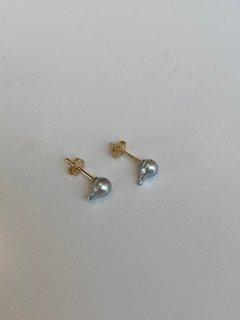 Mariko Tsuchiyama  spiky baby pearl pierce