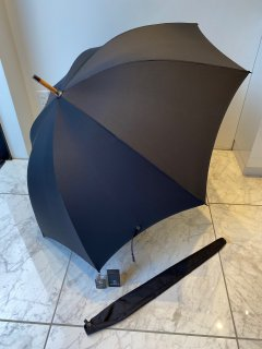 FOX UMBRELLAS    umbrella  hickory solid handle