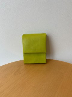 ED ROBERT JUDSON  mini wallet - with money clip - lime