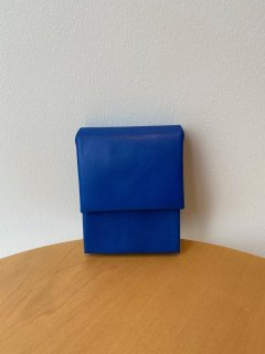 ED ROBERT JUDSON  mini wallet - with money clip - blue