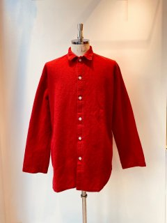 TENDER Co.  wool shirt red