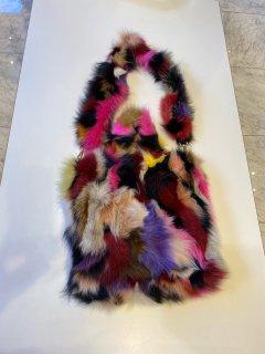 Italo Marseglia  fox fur bag