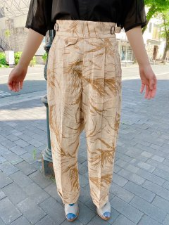 HAVERSACK ATTIRE  ramie pants