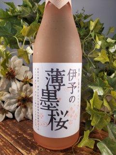 仁喜多津 純米酒伊予の薄墨桜720ml