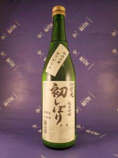 酒仙栄光 純米吟醸初しぼり無濾過生原酒松山三井おりがらみ720ml【要冷蔵】