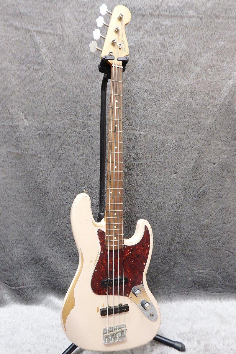 【店頭販売品】Fender Mexico ベースギター Flea Jazz Bass Road Worn/Faded Shell Pink