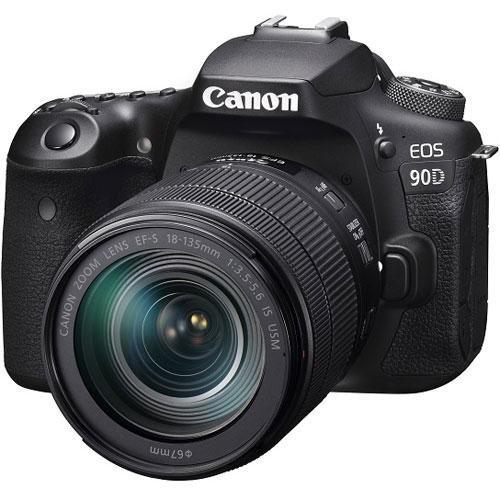 新品★キャノン 一眼レフデジタルカメラ EOS 90D レンズキット 18-135mm★Canon/3250万画素/APS-C