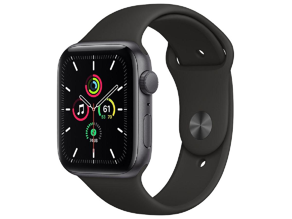 【店頭販売品】新品★アップル AppleWatch SE 44mm  MYDT2J/A スペースグレイ◆Apple/GPSモデル/アルミニウムケース