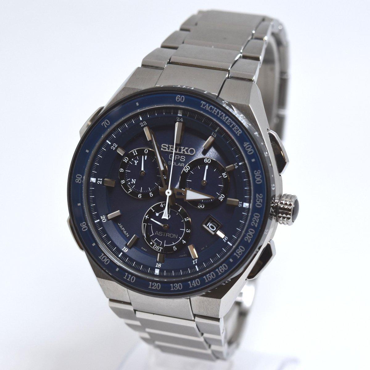 セイコー/アストロン/エグゼクティブライン/8X82-0AR0-1/SBXB127/GPSソーラー/クロノグラフ/腕時計/国産/定価:約25万/男性用/メンズ↑