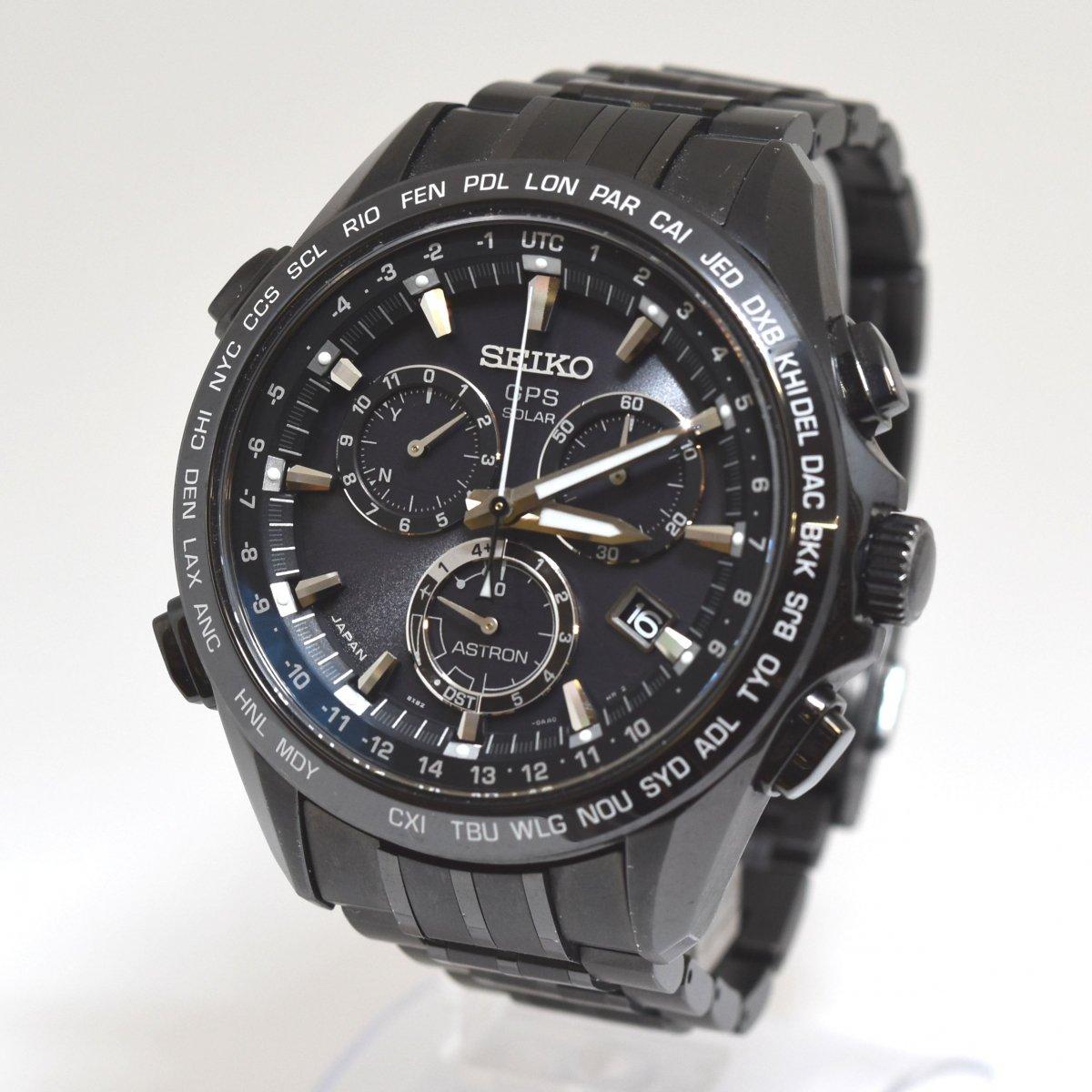 セイコー/アストロン/8X82-0AB0/SBXB009/GPSソーラー/クロノグラフ/腕時計/国産/定価:約24万/男性用/メンズ↑