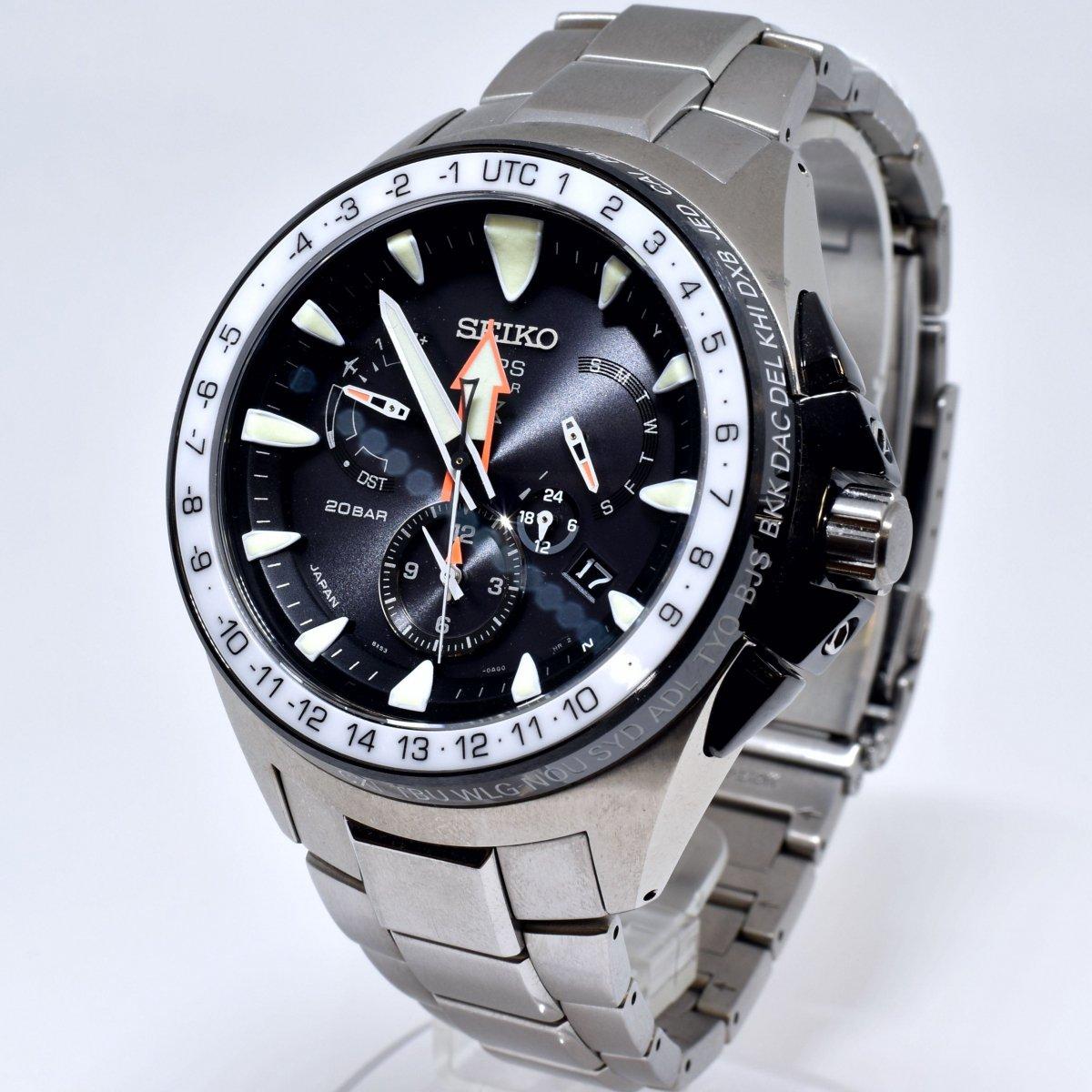 セイコー/プロスペックス/マリーンマスター/オーシャンクルーザー/8X53-0AL0-2/SBED003/GPSソーラー/腕時計/国産/定価:約28万/男性用/メンズ↑