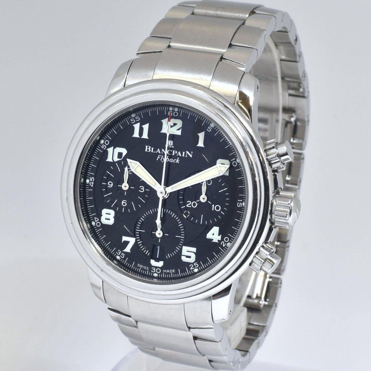 ブランパン/レマンフライバック/2185F-1130-71/オートマチック/クロノグラフ/腕時計/BLANCPAIN/定価:約125万/男性用/メンズ↑