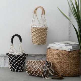 <img class='new_mark_img1' src='https://img.shop-pro.jp/img/new/icons23.gif' style='border:none;display:inline;margin:0px;padding:0px;width:auto;' />Mesh Leather Basket