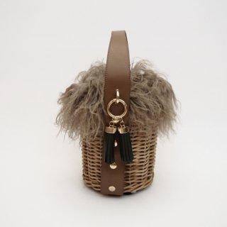 Alter Fur Round #Brown