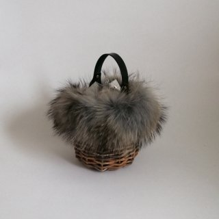 Furry Basketry mini #Gray