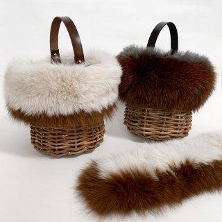 Customize Fur Wrap / Bicolor