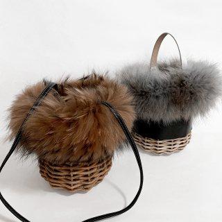 Customize Fur Wrap / Raccoon