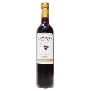 山形県産さくらんぼ紅さやか100%ワイン500ml