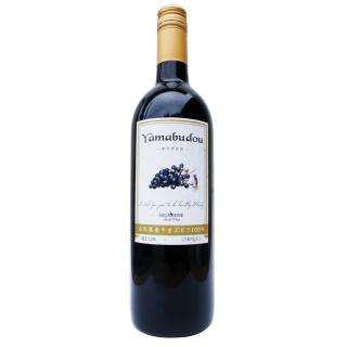 山形県産やまぶどう100%赤ワイン750ml