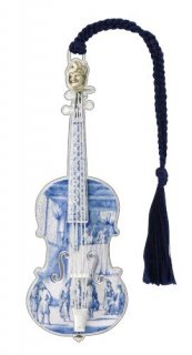 デルフト焼きのバイオリン_BKS9806