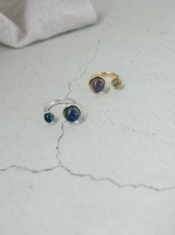 2 Stone Mood Ring