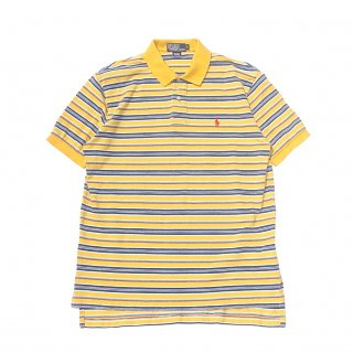 <img class='new_mark_img1' src='https://img.shop-pro.jp/img/new/icons16.gif' style='border:none;display:inline;margin:0px;padding:0px;width:auto;' />YELLOW BORDER POLO SHIRTS