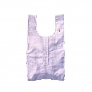 Shirts Shoulder bag (Lavender Stripe)<img class='new_mark_img2' src='https://img.shop-pro.jp/img/new/icons47.gif' style='border:none;display:inline;margin:0px;padding:0px;width:auto;' />
