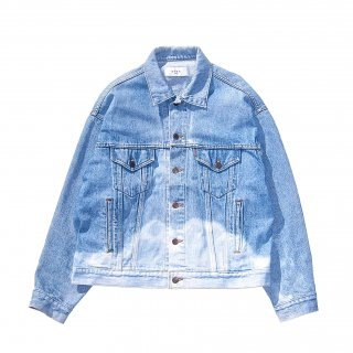 <img class='new_mark_img1' src='https://img.shop-pro.jp/img/new/icons25.gif' style='border:none;display:inline;margin:0px;padding:0px;width:auto;' />BLEACH DENIM JACKET(INDIGO)