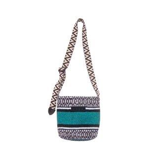 Baja Mini Bag(horizontal stripes) #05 Turquoise Green<img class='new_mark_img2' src='https://img.shop-pro.jp/img/new/icons47.gif' style='border:none;display:inline;margin:0px;padding:0px;width:auto;' />