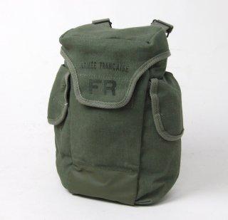 フランス軍 OD M-63 マスクバッグ(新品)229N