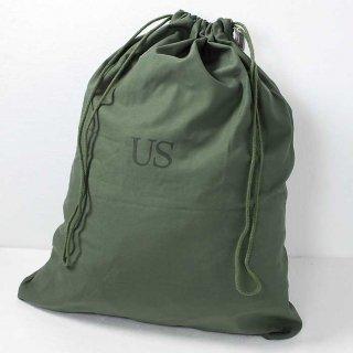 US.コットン、ランドリーバッグ(USED極上品)A4N2